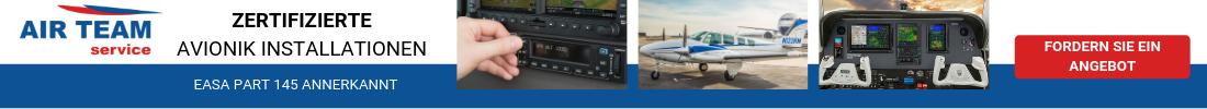 Zertifizierte Avionik Installationen
