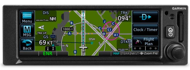 Garmin GPS 175 on
