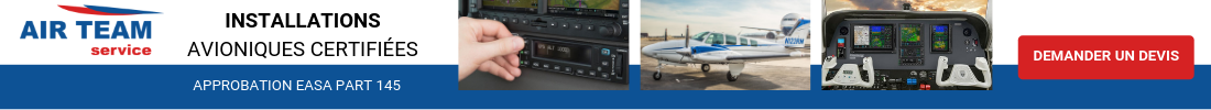 Installations avioniques certifiées