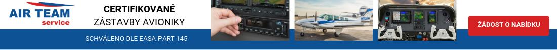 Certifikované zástavby avioniky